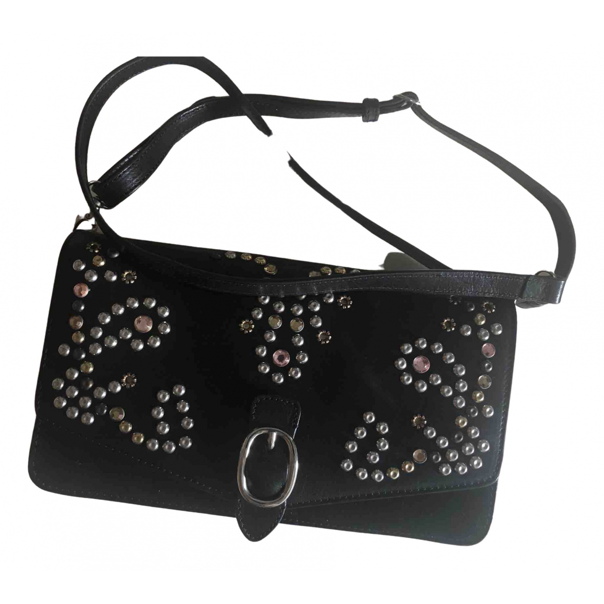Isabel Marant \N Handtasche in  Schwarz Leder