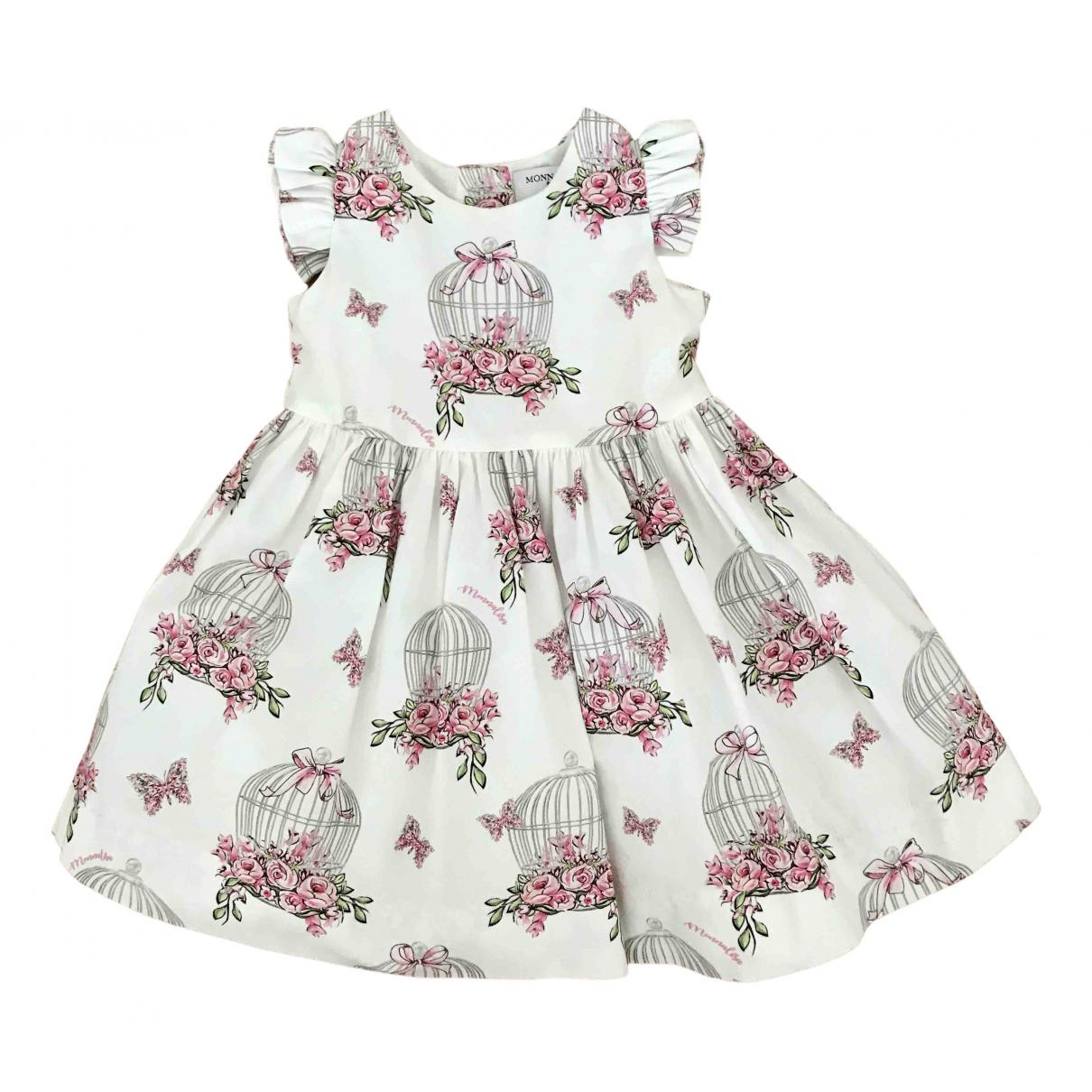 Monnalisa \N Kleid in  Bunt Baumwolle