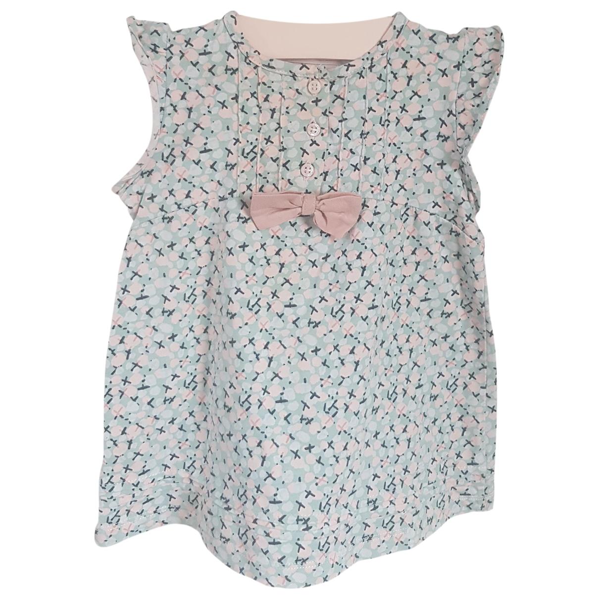 Cacharel - Robe    pour enfant en coton - bleu