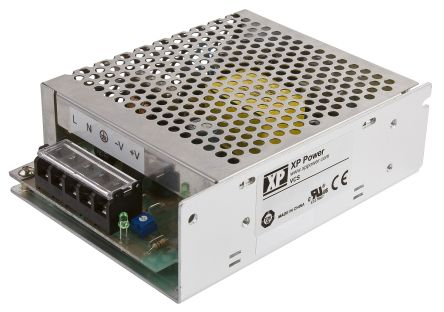 XP Power , 100W AC-DC Converter, 12V dc, Enclosed