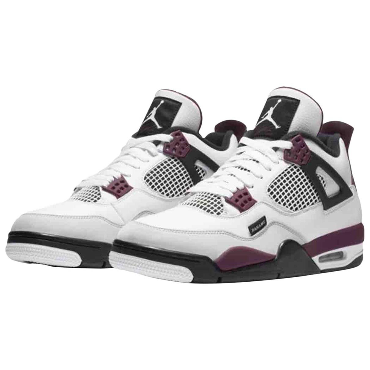 Jordan - Baskets Air Jordan 4 pour homme en autre - blanc
