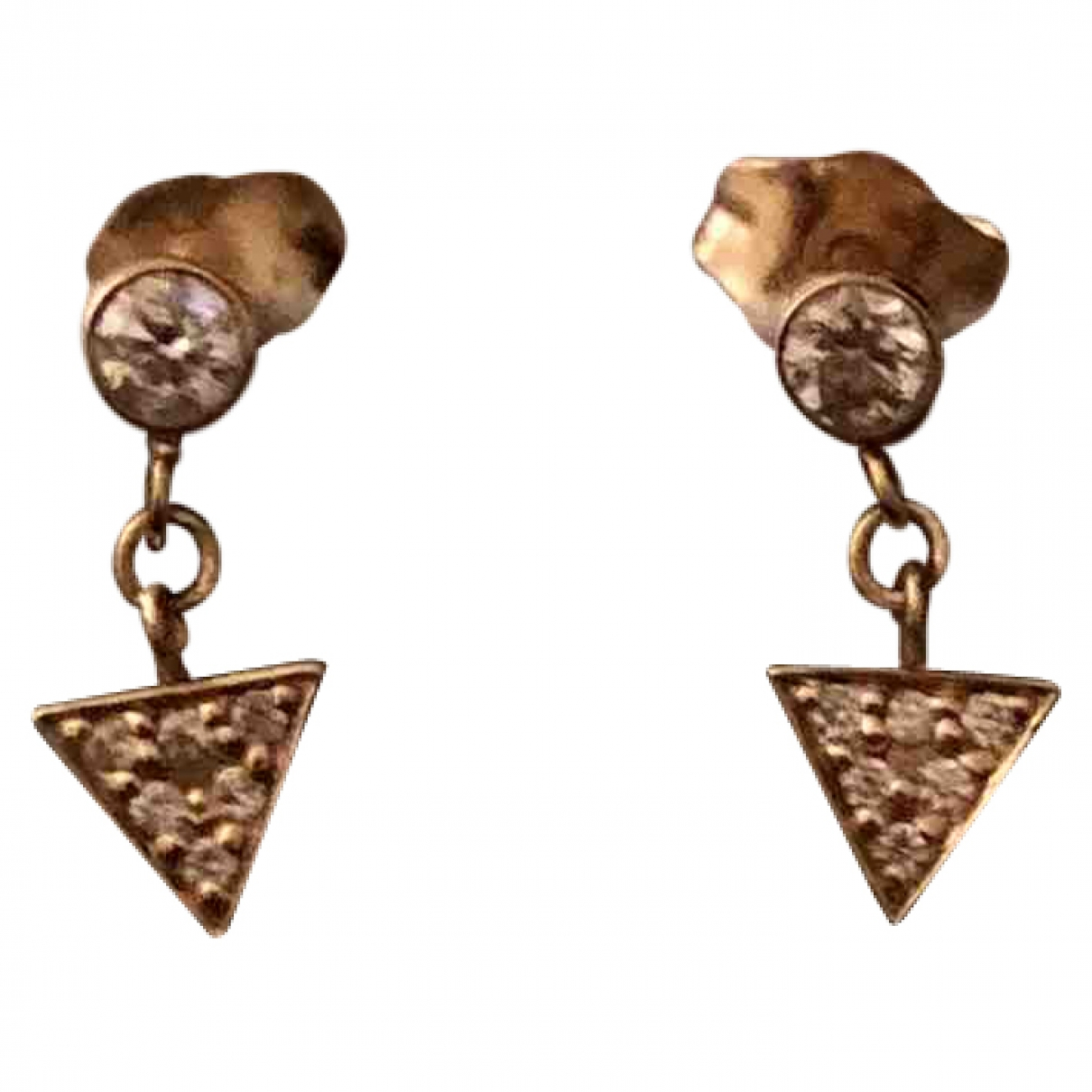 And... Paris \N Yellow gold Earrings for Women \N
