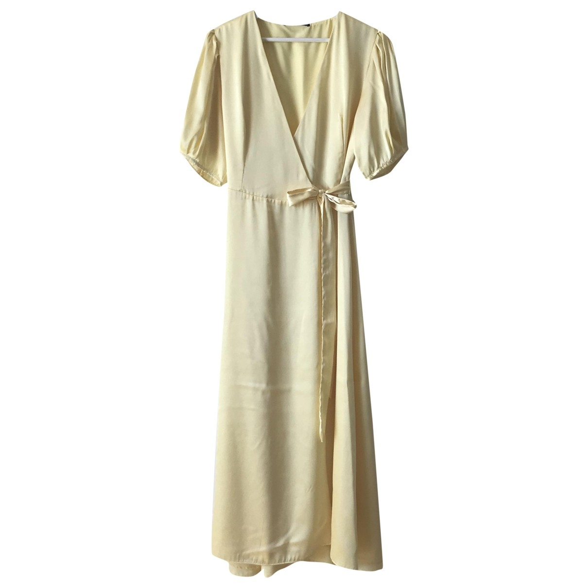Zara \N Kleid in  Gelb Polyester