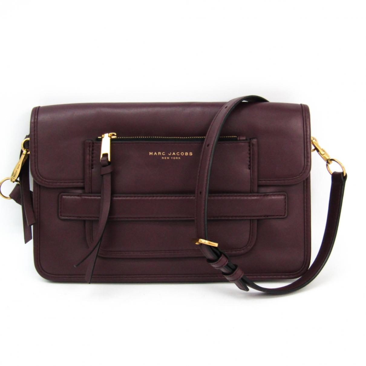 Marc Jacobs \N Burgundy Leather handbag for Women \N
