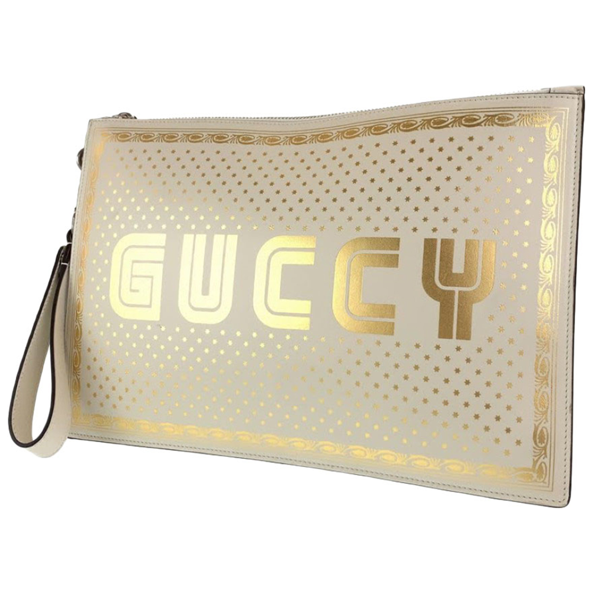 Gucci - Pochette   pour femme en cuir