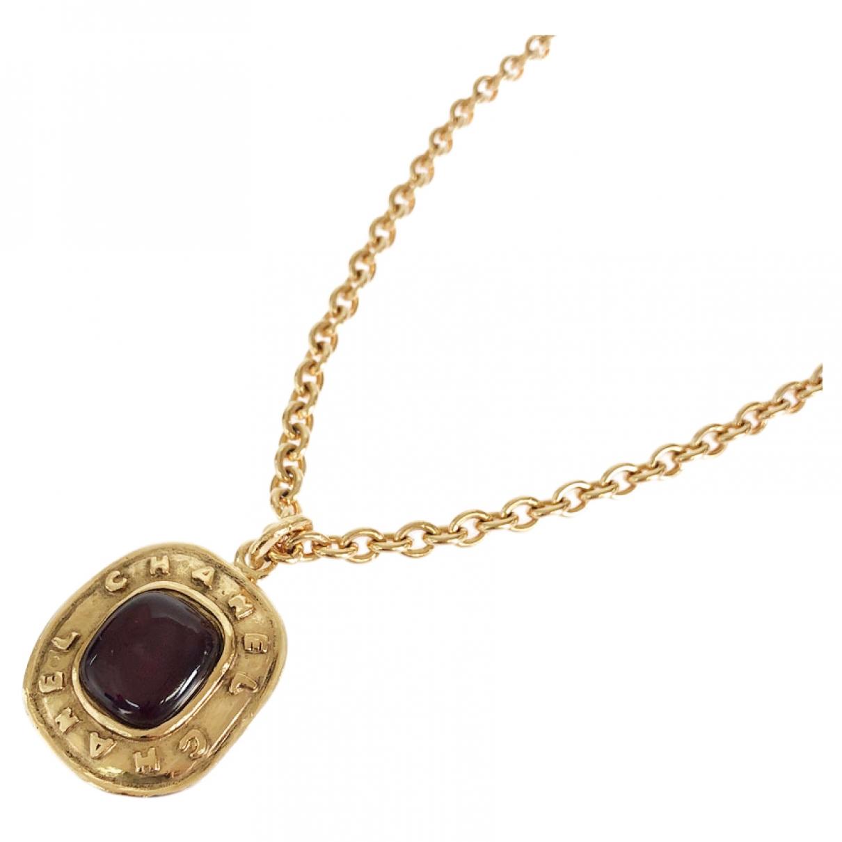Chanel - Collier   pour femme en plaque or - dore