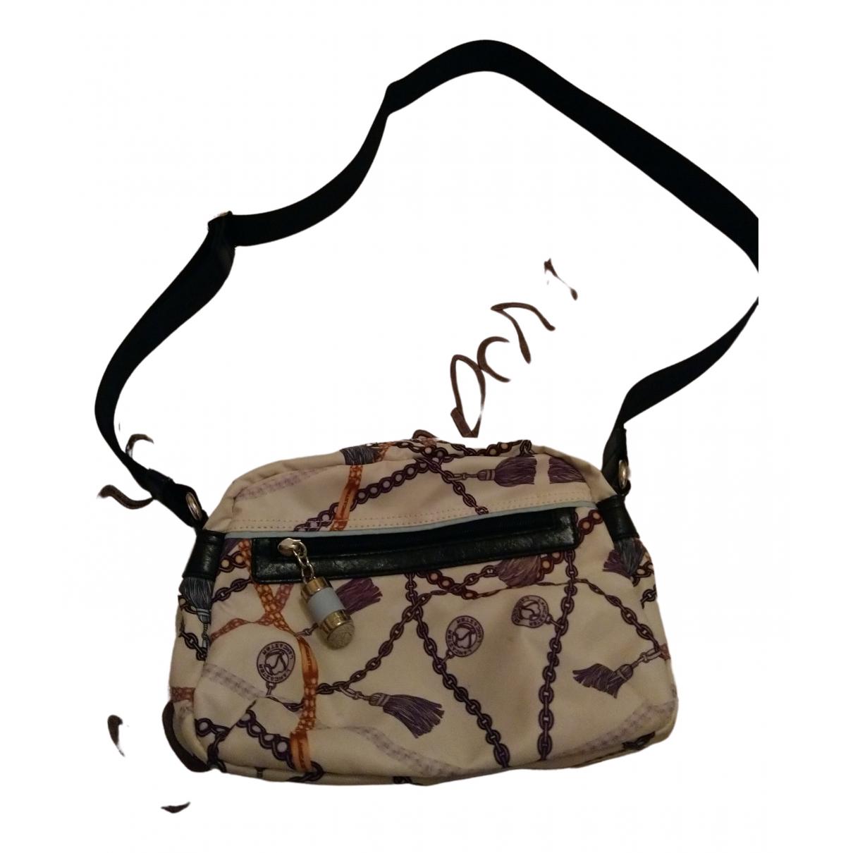 Lancaster \N Handtasche in  Weiss Synthetik
