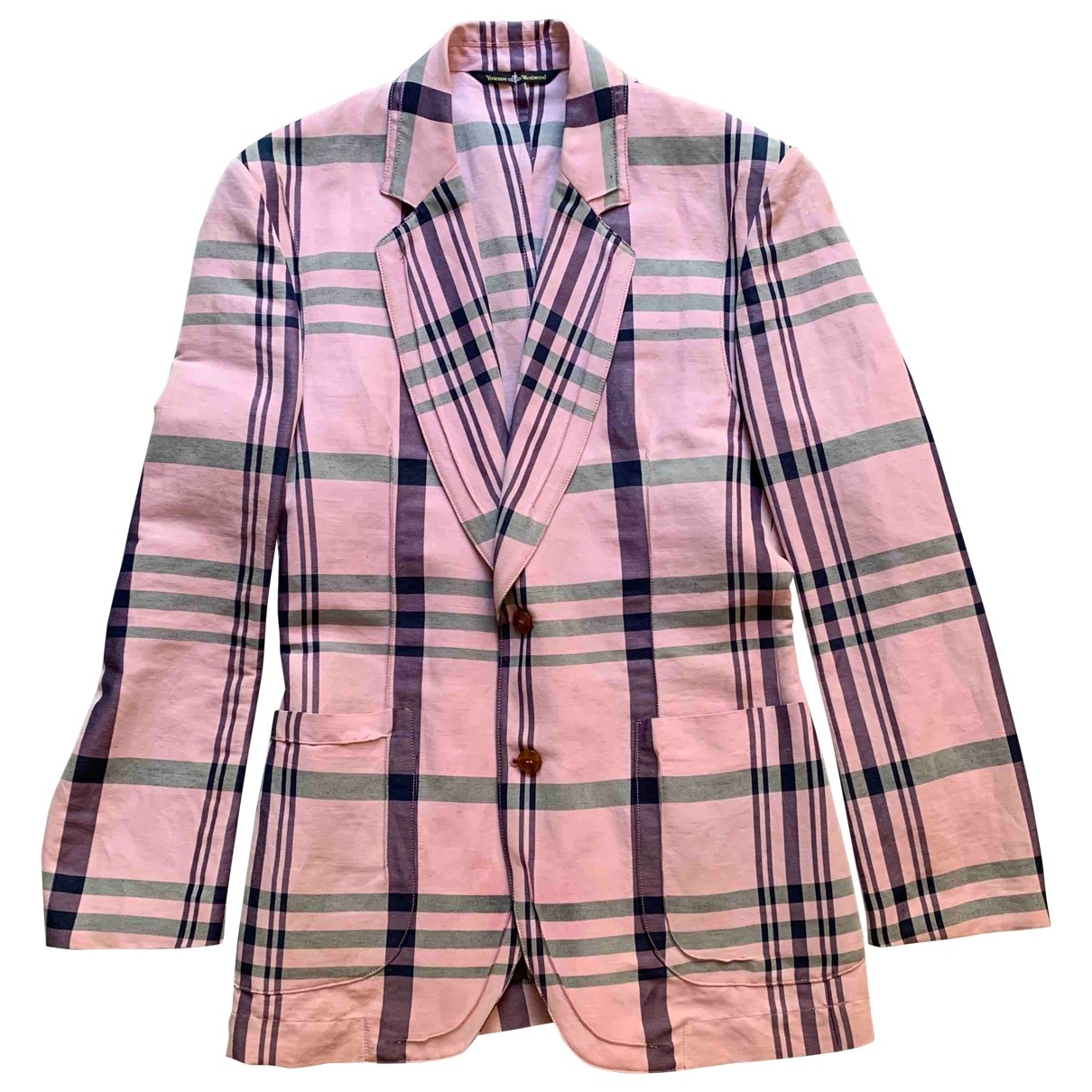 Vivienne Westwood \N Pink Cotton jacket  for Men 50 IT