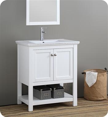 FCB2305WH-I Manchester 30 White Traditional Bathroom