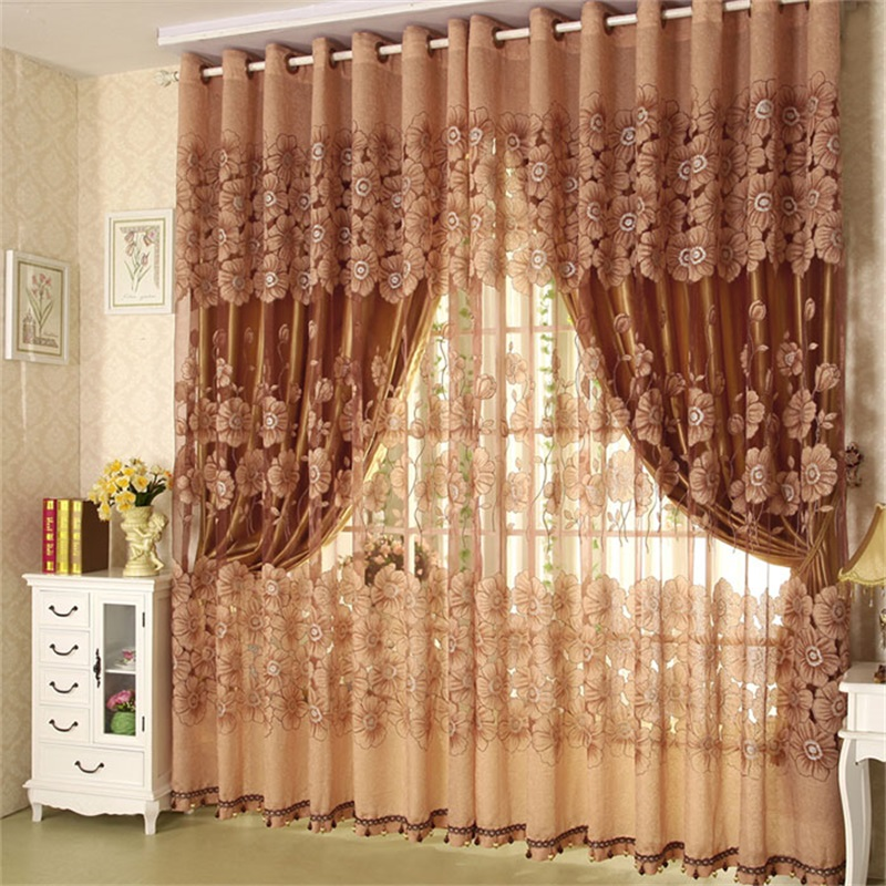 Luxury Solid Bronze Custom Curtain for Living Room and Bedroom