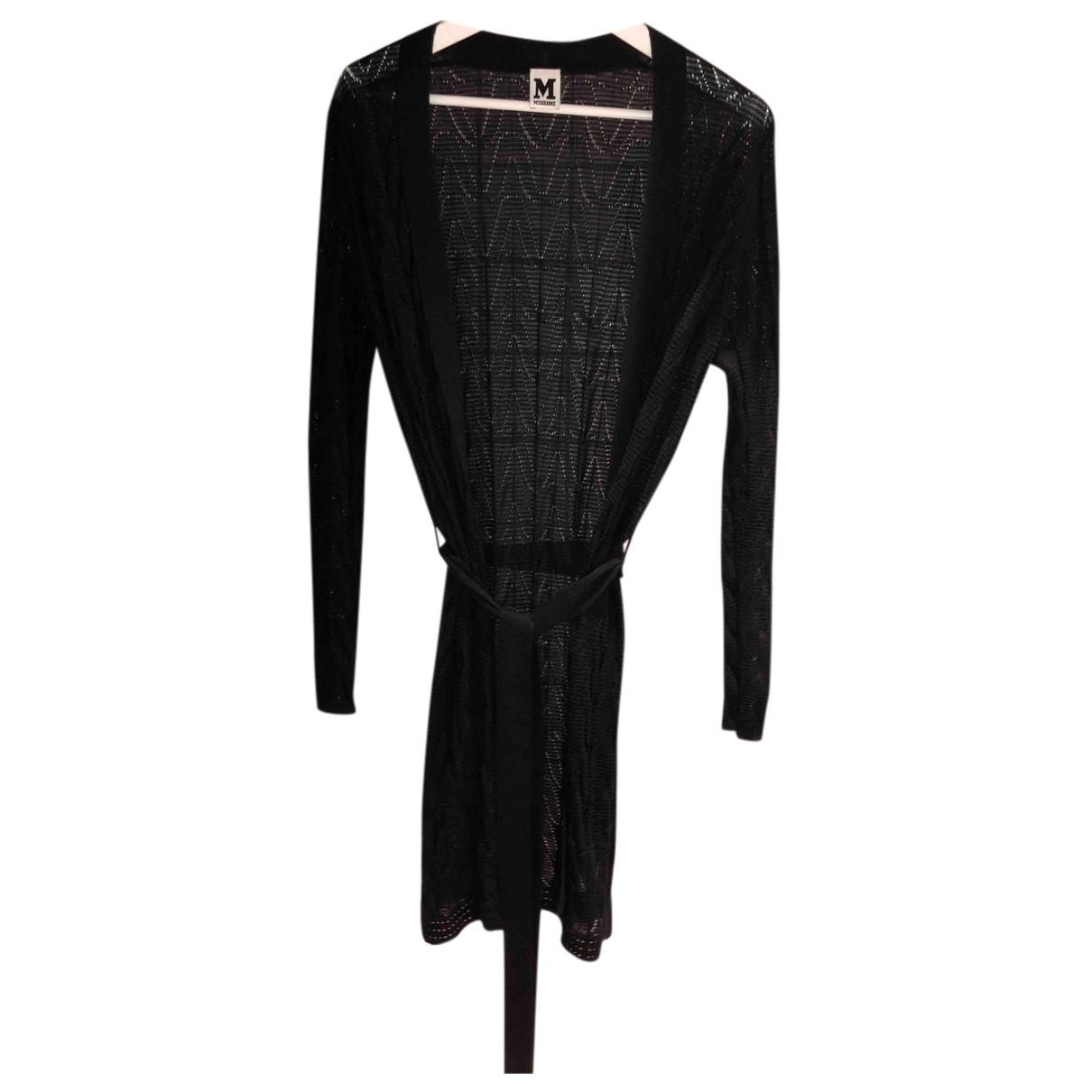 M Missoni N Navy Wool Knitwear for Women 40 IT