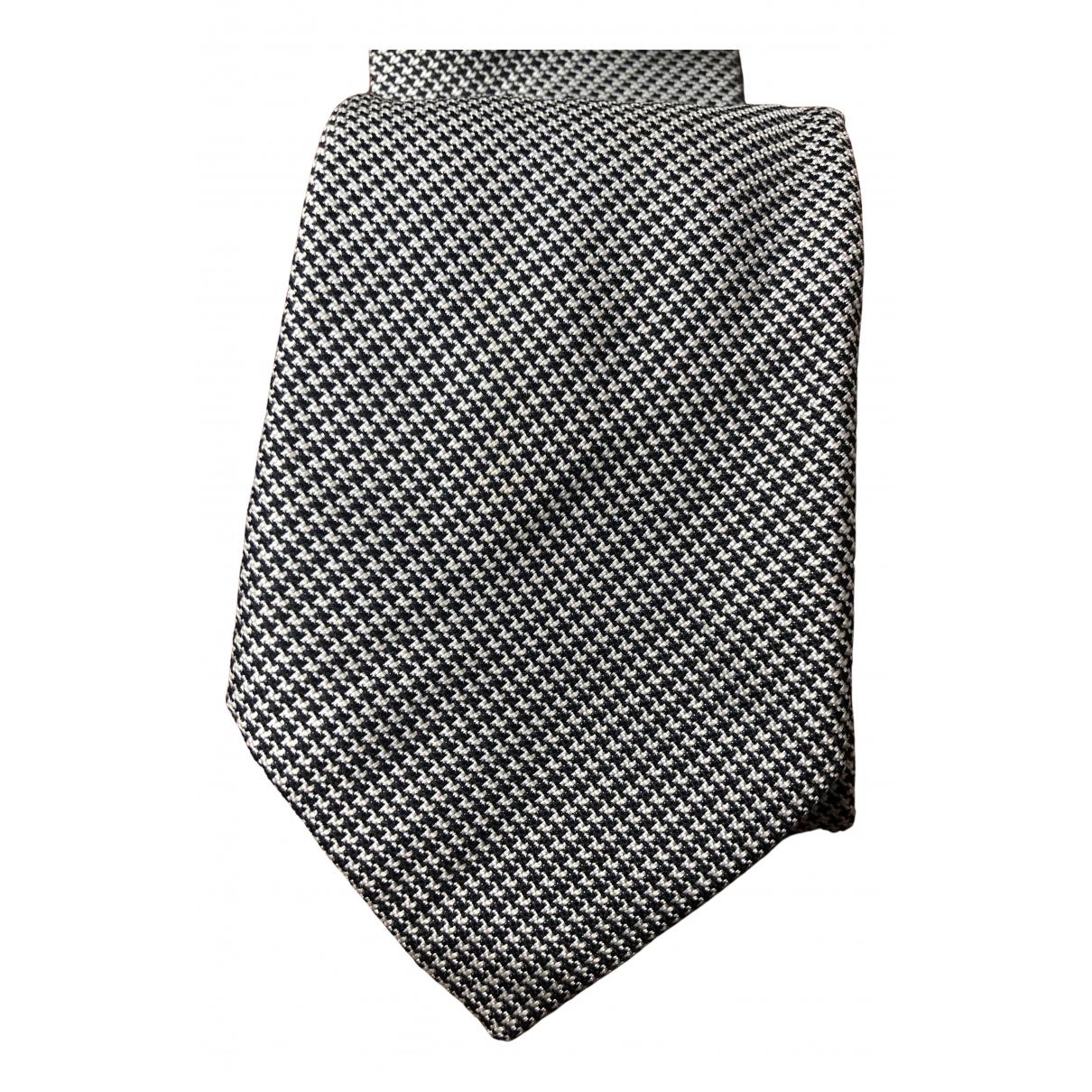 Brioni \N Krawatten in  Bunt Seide