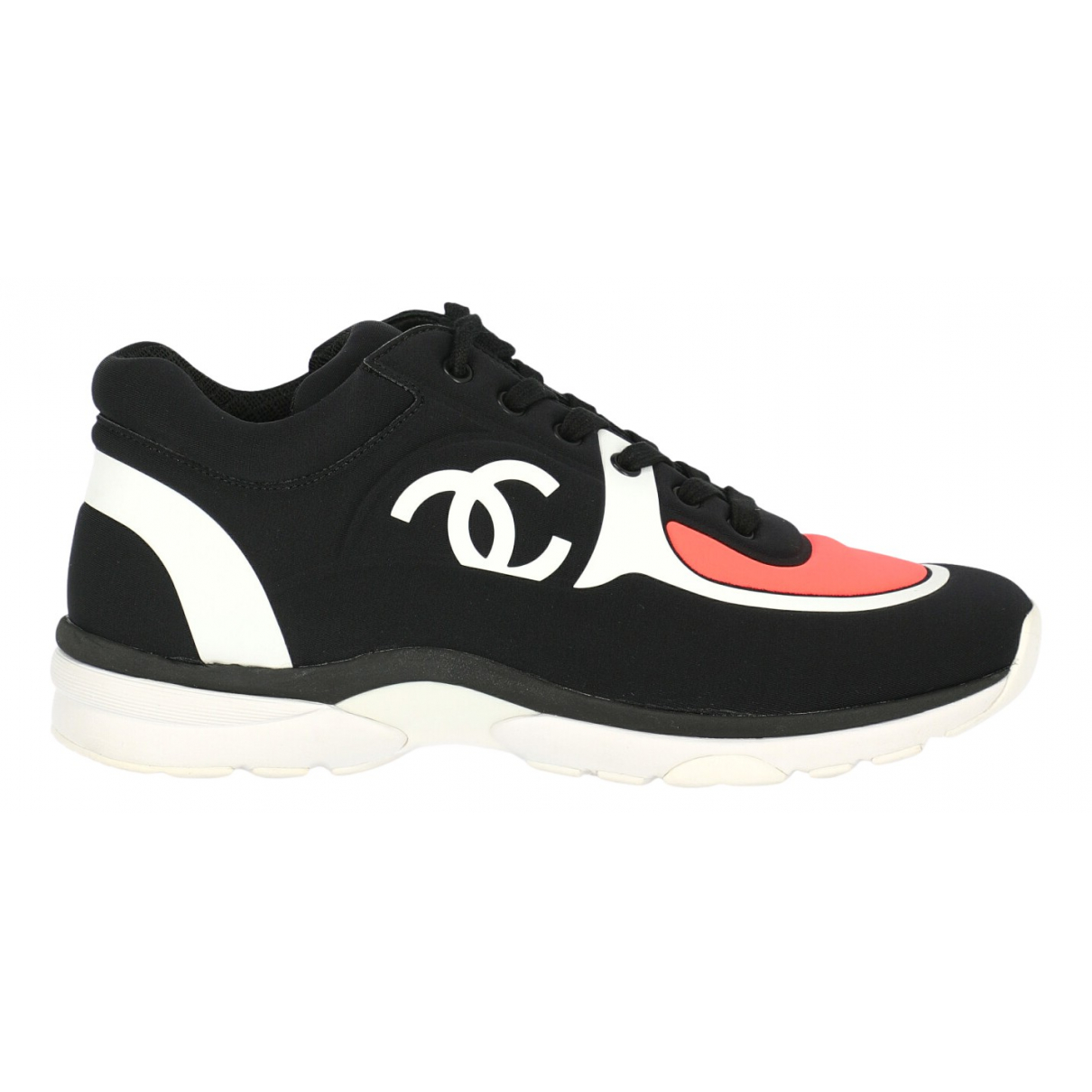 Chanel \N Sneakers in  Bunt Leinen