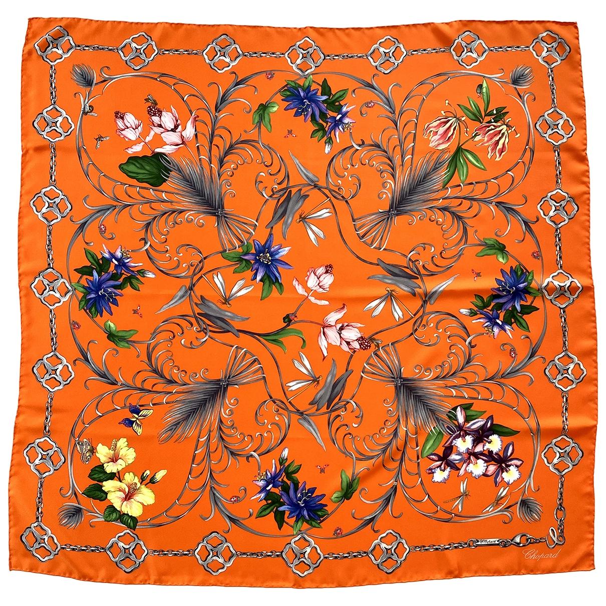 Chopard \N Tuecher in  Orange Seide