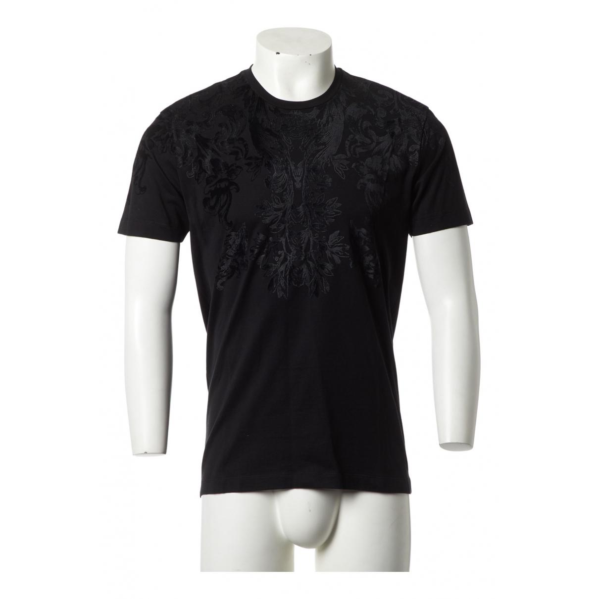 Dolce & Gabbana N Black Cotton T-shirts for Men L International