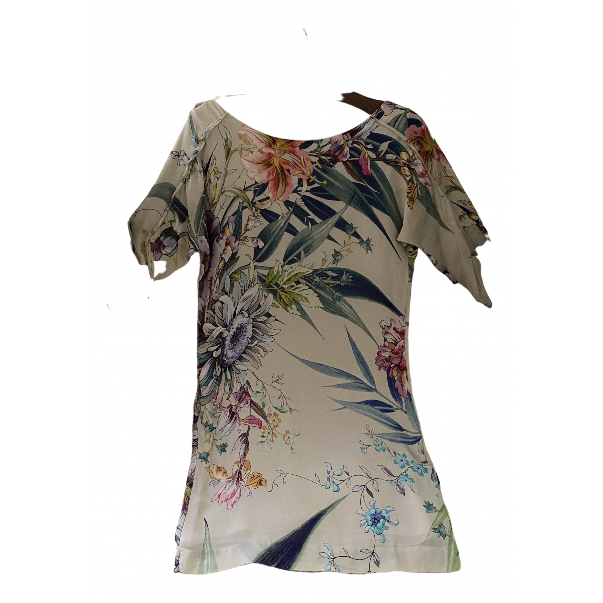 Zara \N Multicolour Silk dress for Women XS International