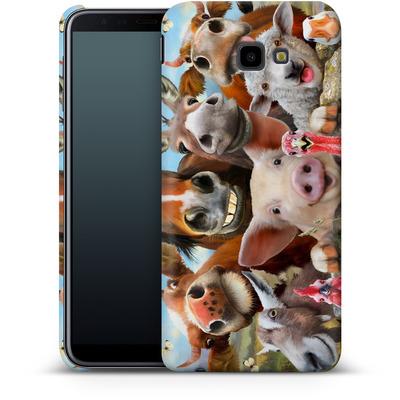 Samsung Galaxy J4 Plus Smartphone Huelle - Farm Selfie von Howard Robinson