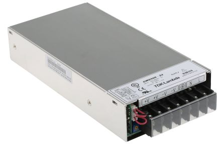 TDK-Lambda , 504W Embedded Switch Mode Power Supply SMPS, 24V dc, Enclosed