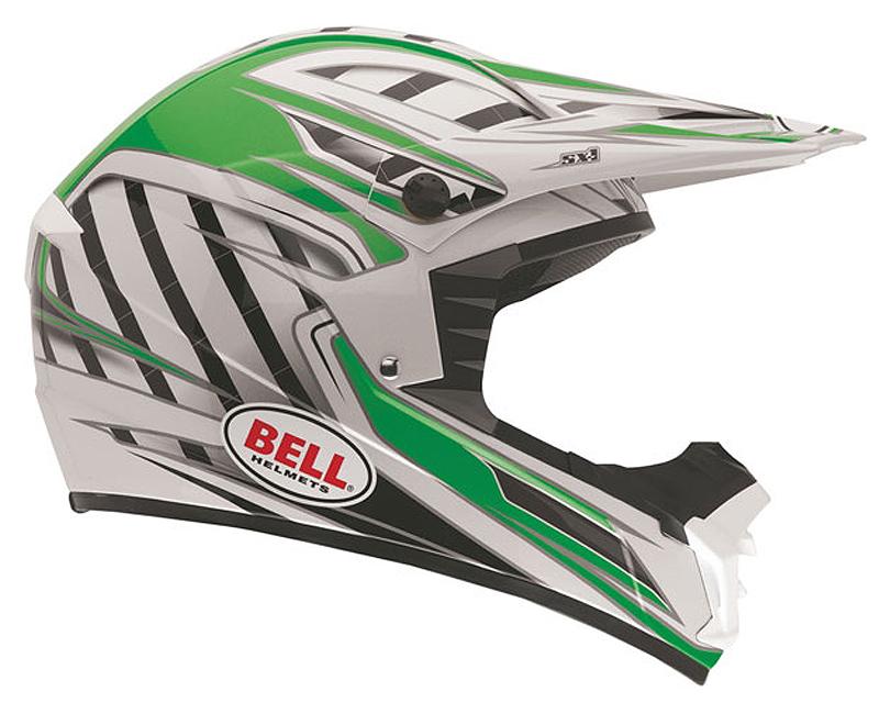 Bell Racing 2036766 SX-1 Switch Green Helmet 2XL | 62-63