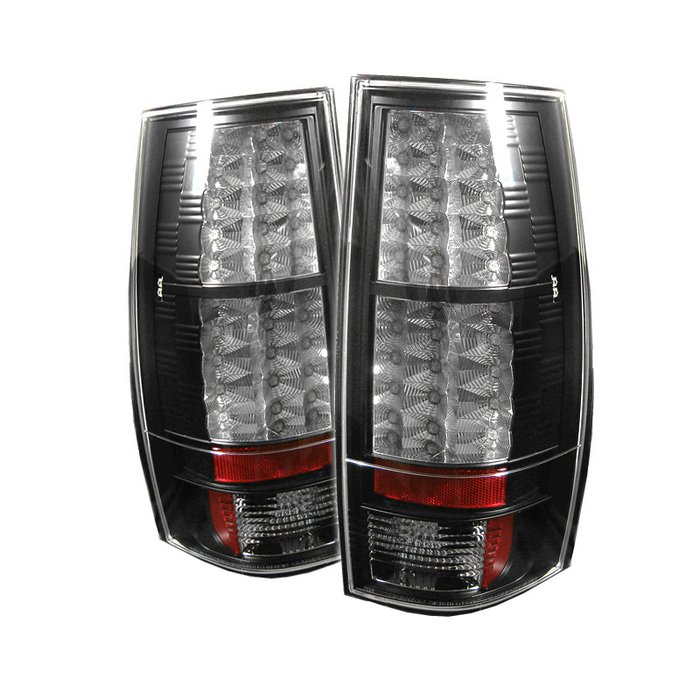 Spyder LED Black Tail Lights Chevrolet Suburban & Chevrolet Tahoe / GMC Yukon & XL 1500 2500 07-10