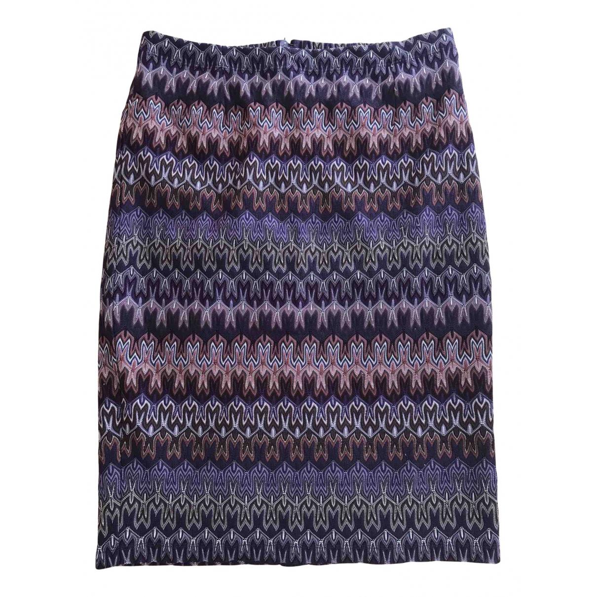 Missoni - Jupe   pour femme - violet