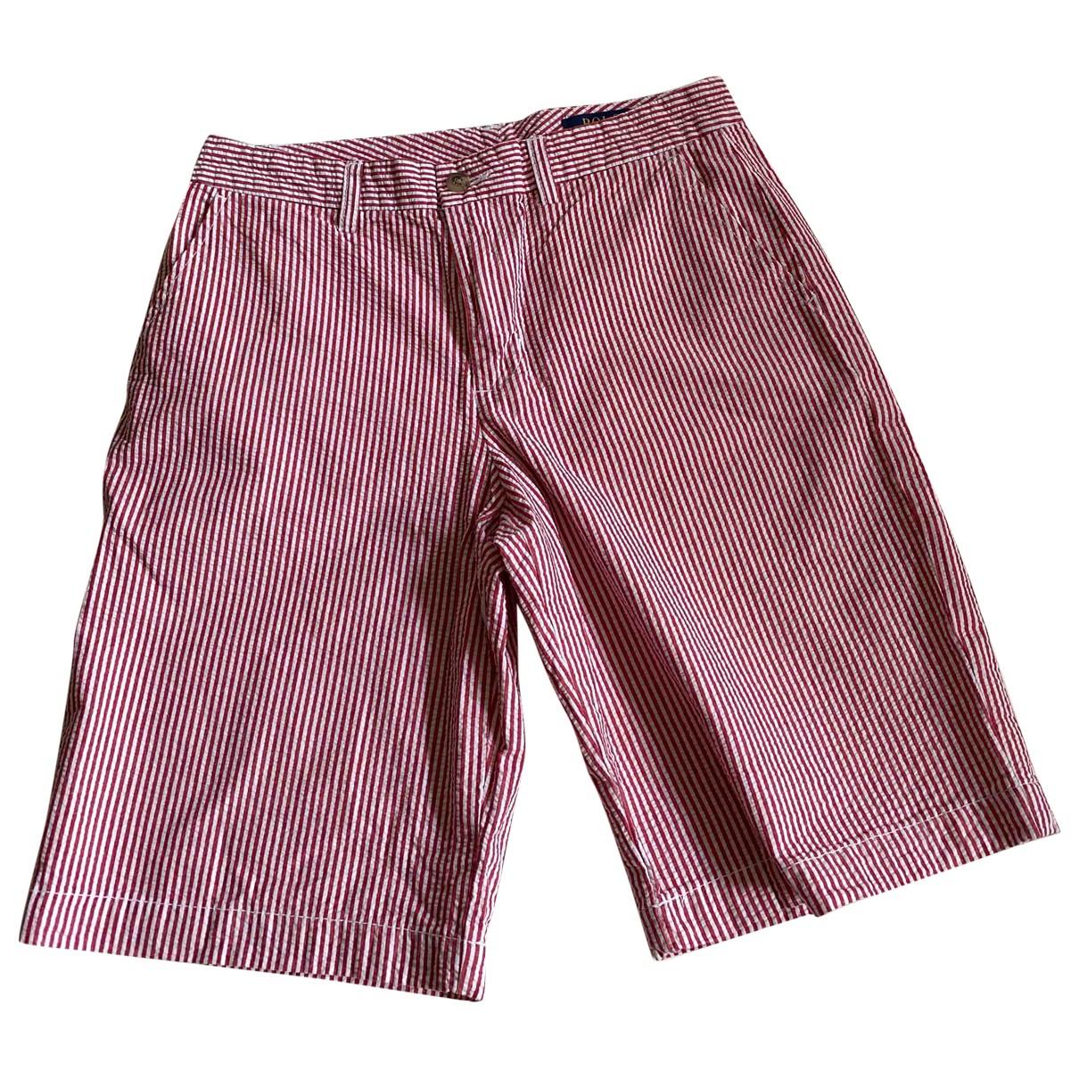 Polo Ralph Lauren \N Shorts in  Rot Baumwolle