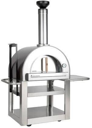 FVP500-C Pronto Freestanding Wood Burning Pizza Oven with 24