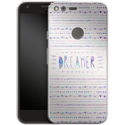 Google Pixel XL Silikon Handyhuelle - Dreamer von Bianca Green