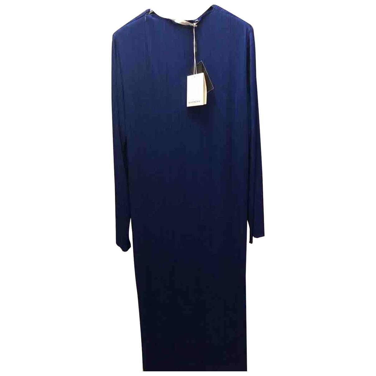 Givenchy \N Kleid in  Blau Polyester