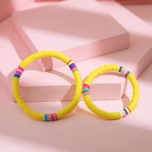 2pcs Parent-toddler girls Beaded Bracelet