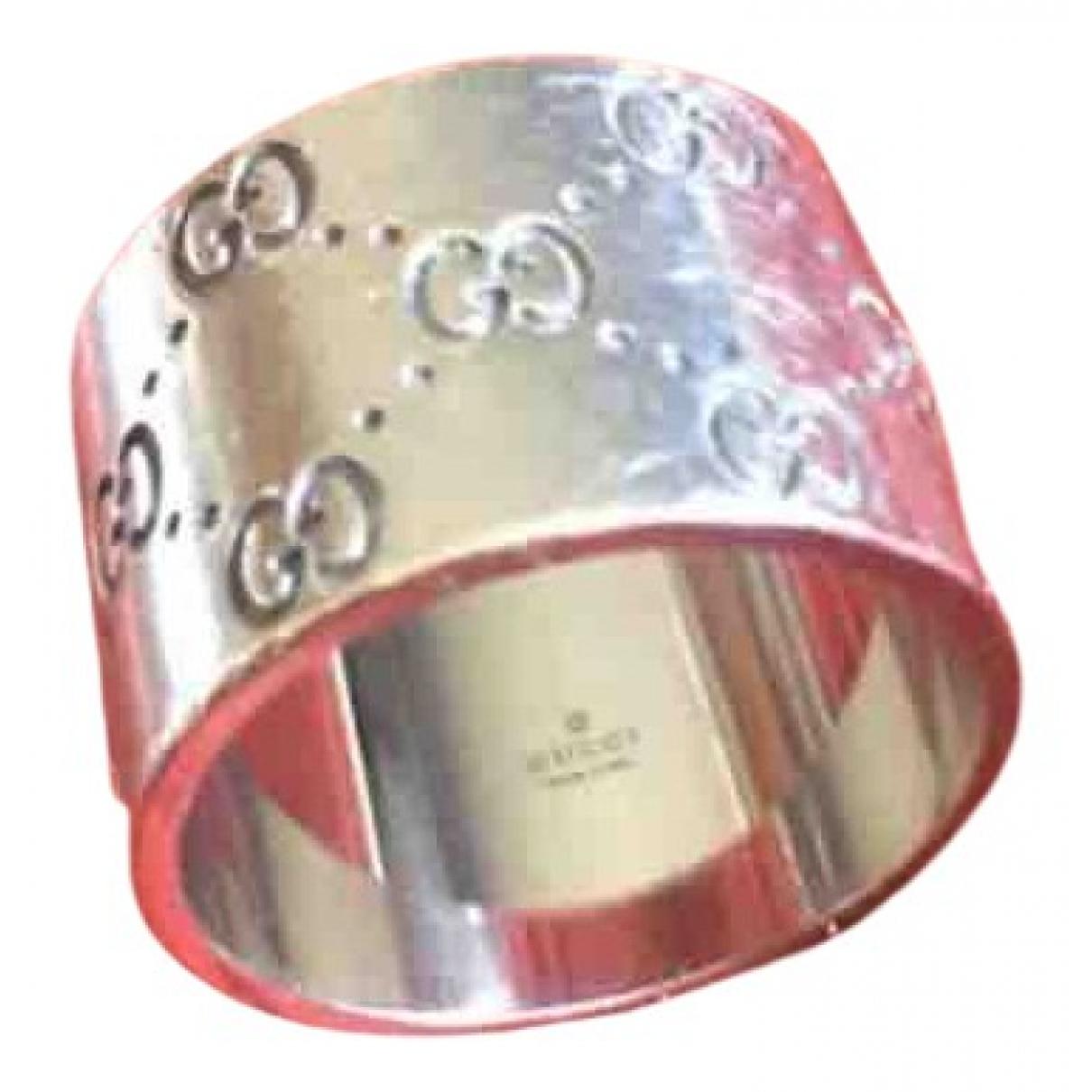Gucci Mors Grey White gold ring for Women 62 EU