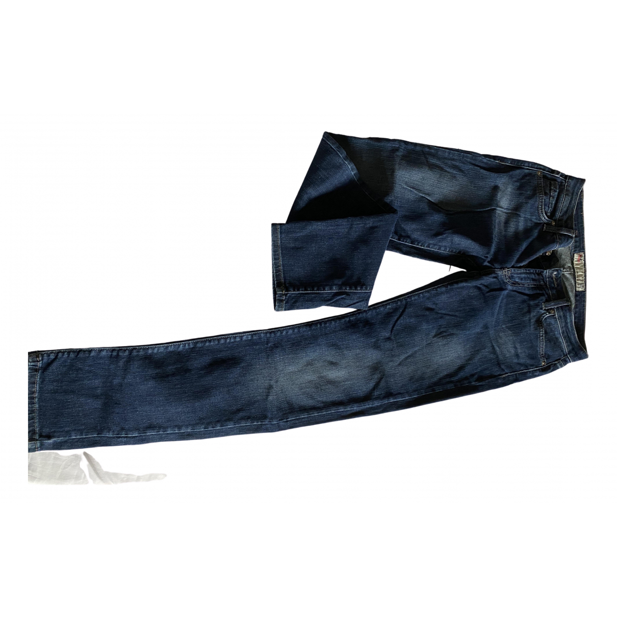 Roy Roger's \N Blue Cotton - elasthane Jeans for Women 28 US