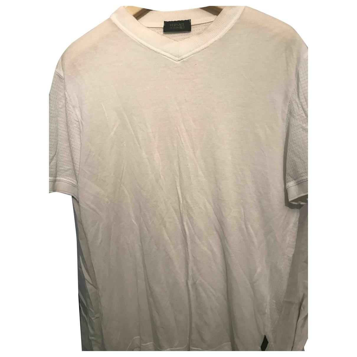 Versace \N T-Shirts in  Weiss Viskose