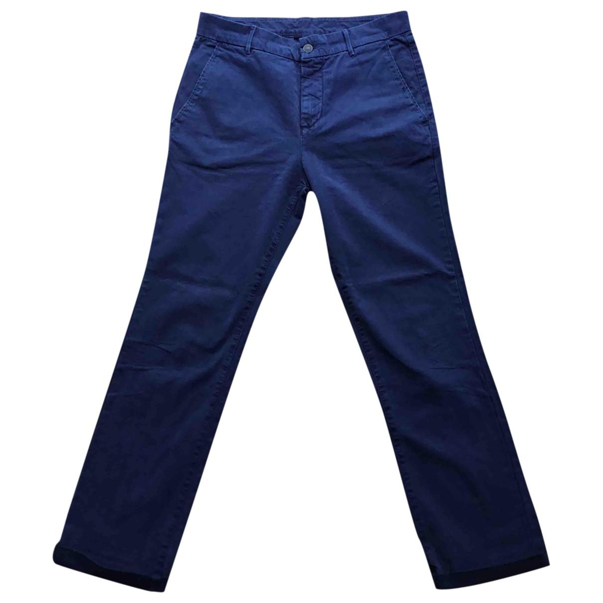 Pantalones en Algodon Azul 7 For All Mankind