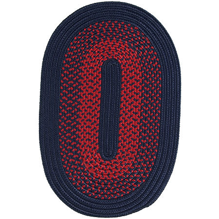 JCPenney Home Home Expressions Reversible Braided Oval Rug, One Size , Multiple Colors
