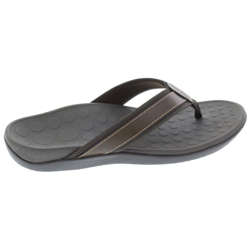 Vionic Tide (Men's) Brown Leather 8 M