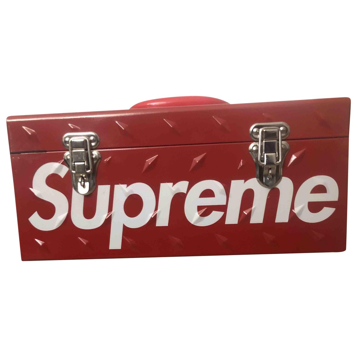Supreme \N Red Steel Home decor for Life & Living \N