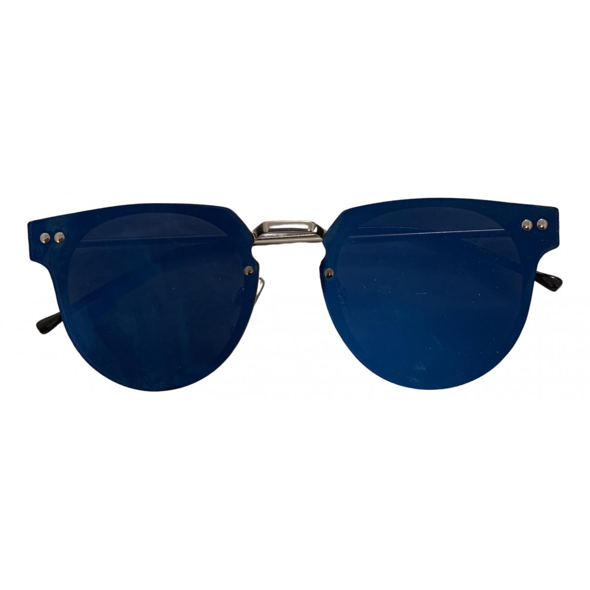 - Lunettes   pour femme en metal - bleu