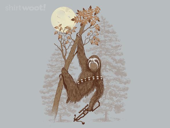 Sloth Wars T Shirt