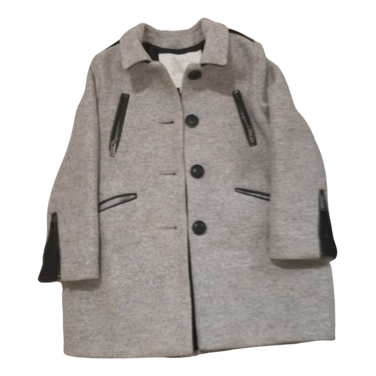 Burberry \N Grey Wool jacket & coat for Kids 5 years - until 42.5 inches UK