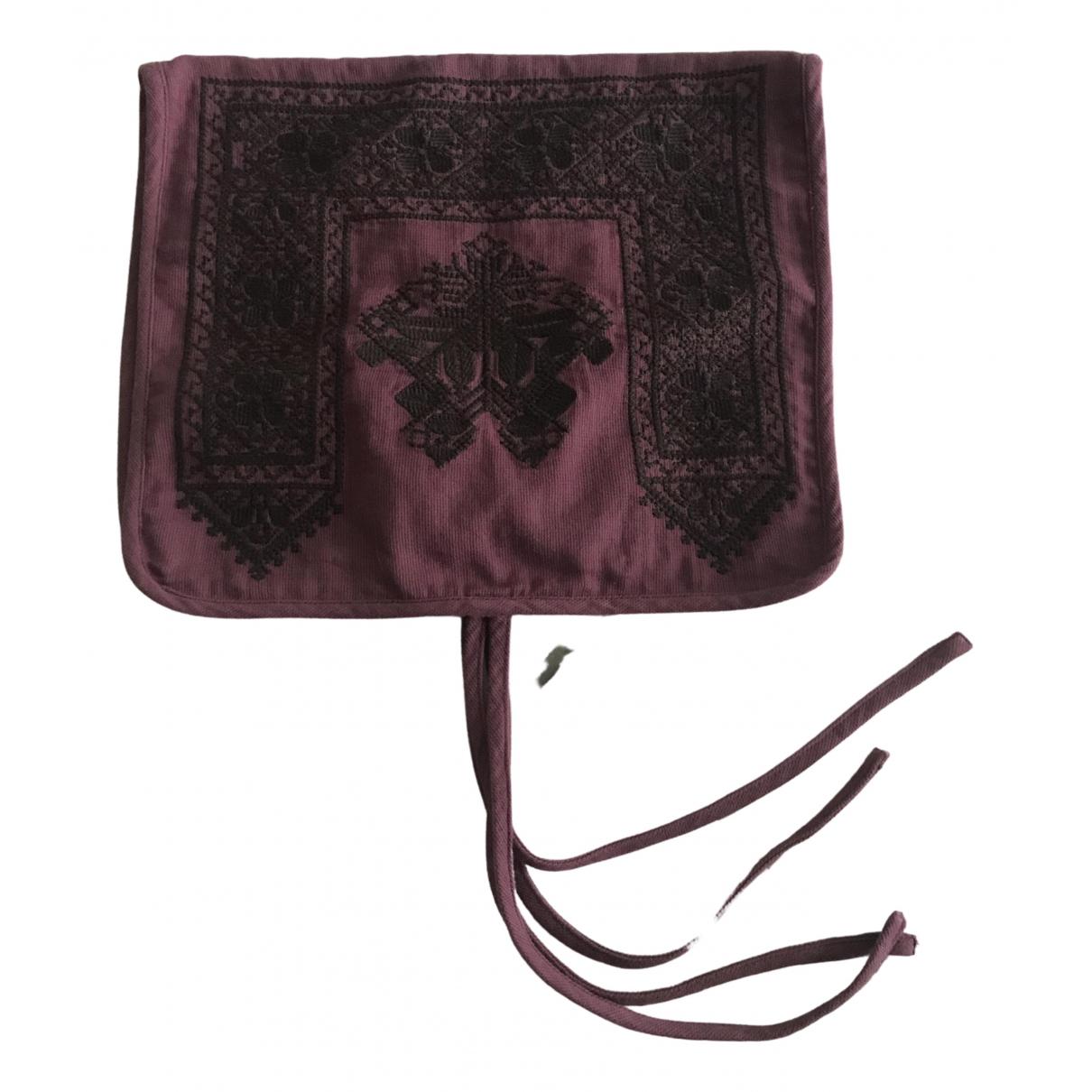 Comptoir Des Cotonniers \N Burgundy Cotton Textiles for Life & Living \N