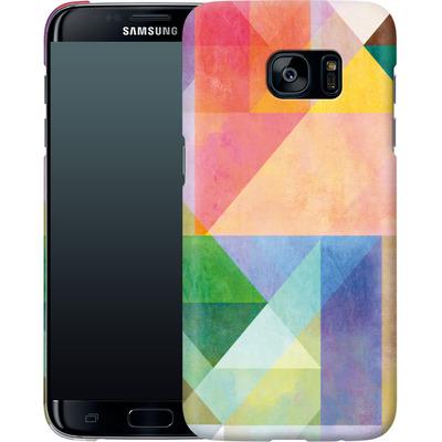 Samsung Galaxy S7 Edge Smartphone Huelle - Color Blocking 1 von Mareike Bohmer