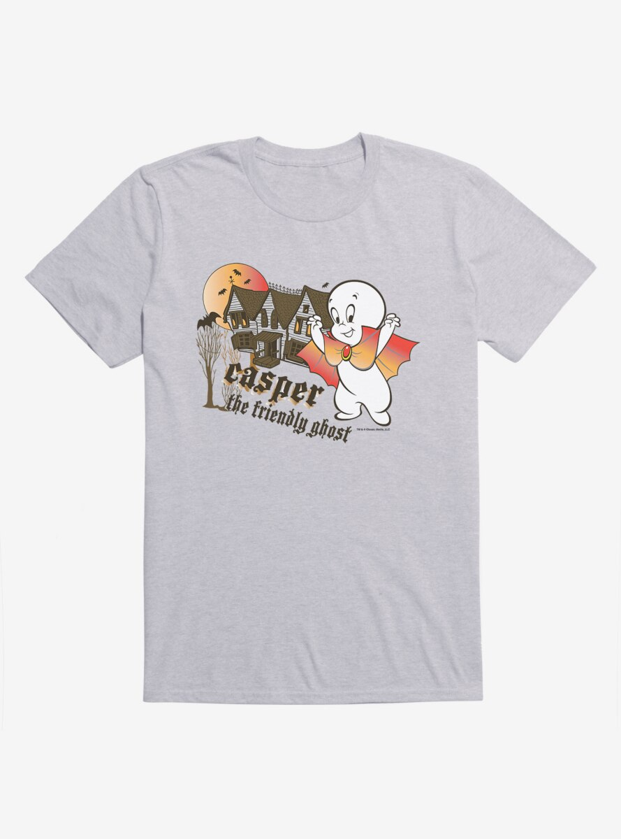 Casper The Friendly Ghost Haunted House T-Shirt