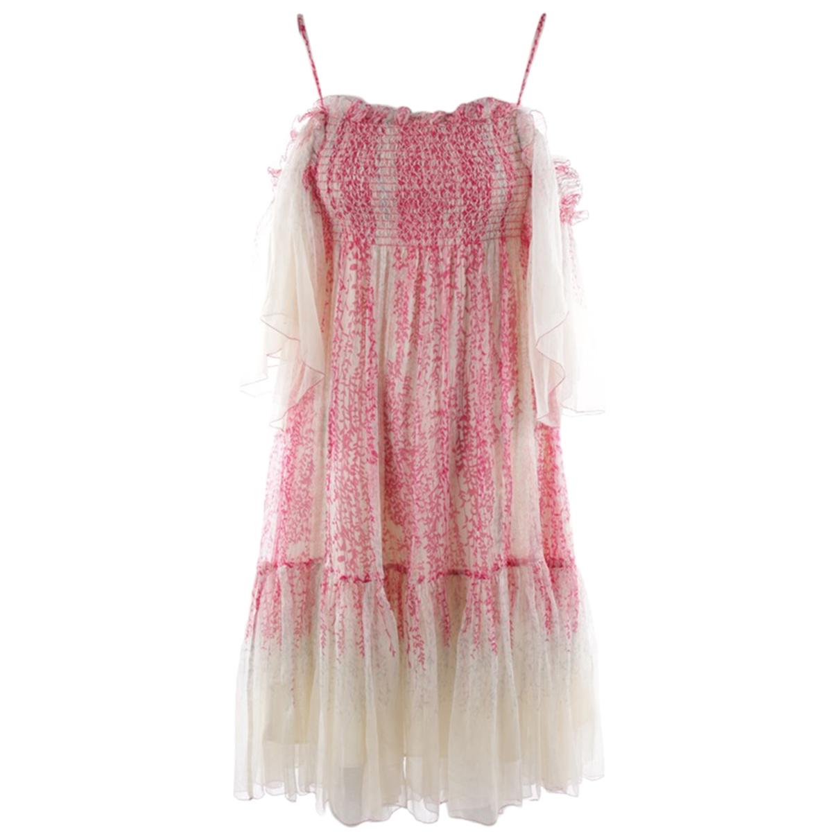 Diane Von Furstenberg - Robe   pour femme - blanc
