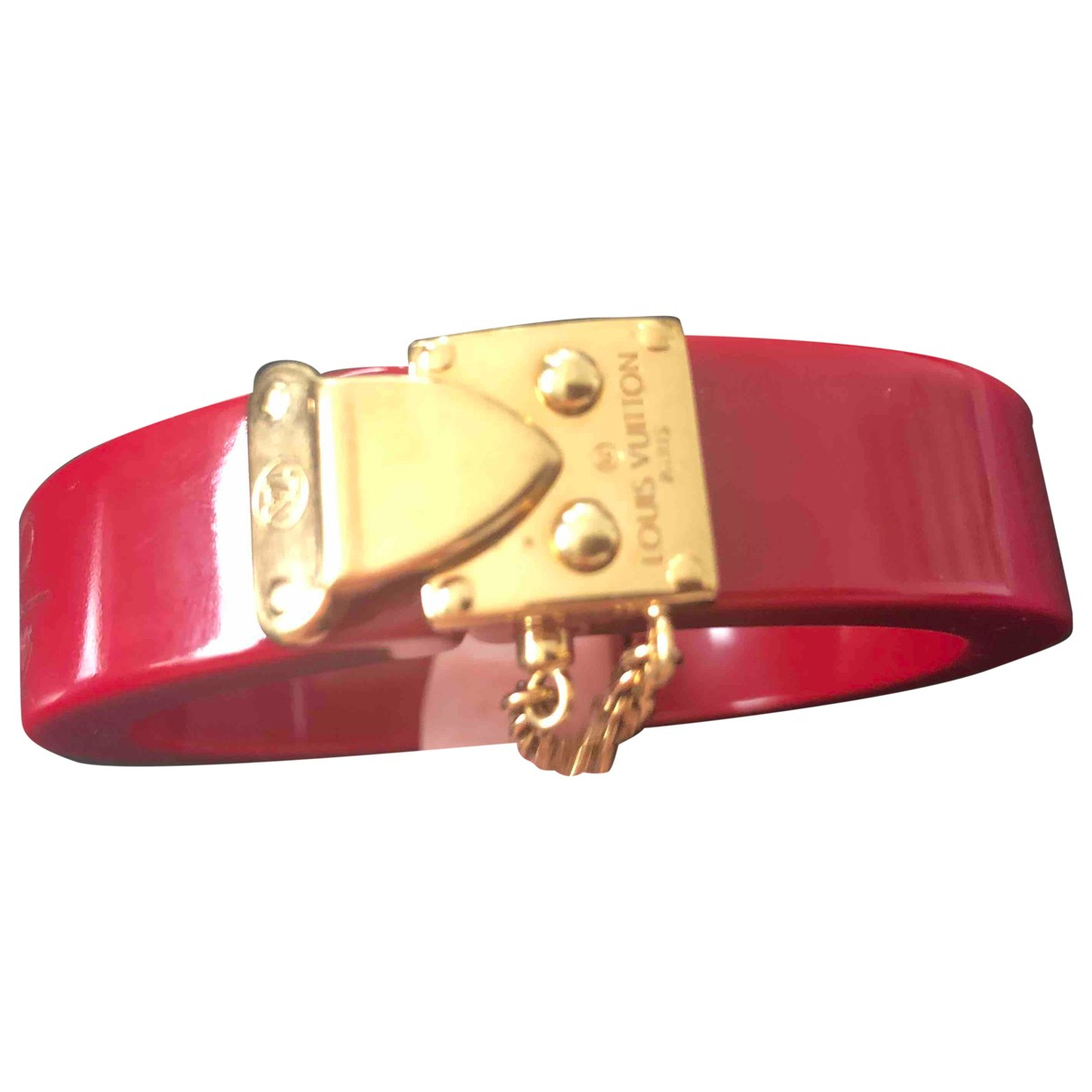 Louis Vuitton Lockit Red bracelet for Women \N