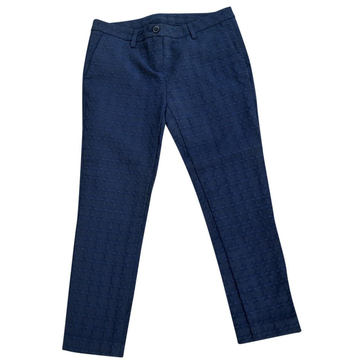 Pantalon en Algodon Azul Department 5