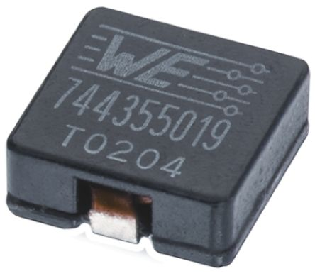 Wurth Elektronik Wurth, WE-HCI, 2212 Shielded Wire-wound SMD Inductor with a MnZn Core, 68 μH ±20% Flat Wire Winding 7.5A Idc