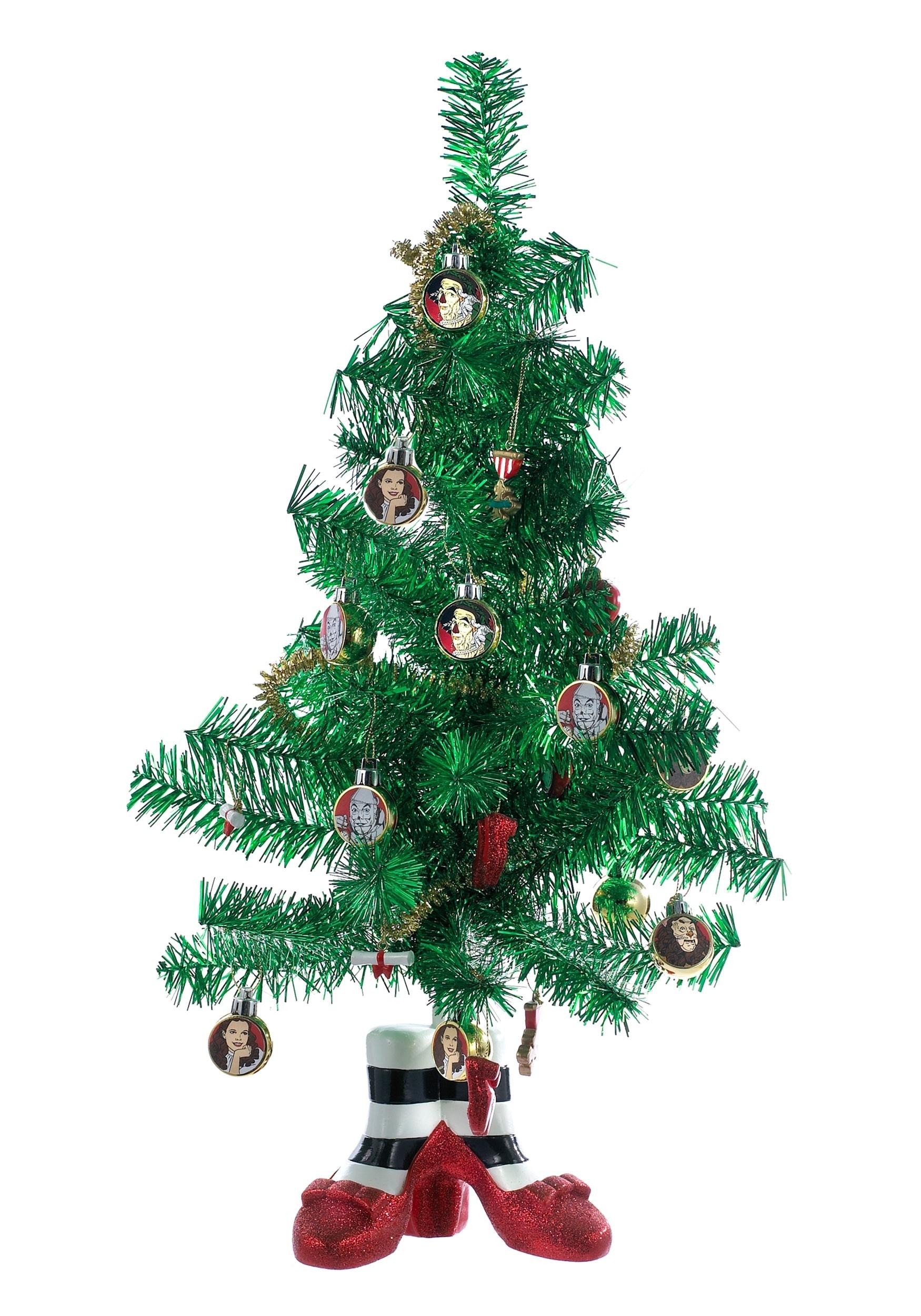 Wizard of Oz Tinsel Miniature Christmas Tree