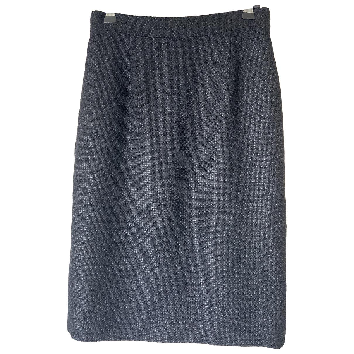 Falda midi Chanel