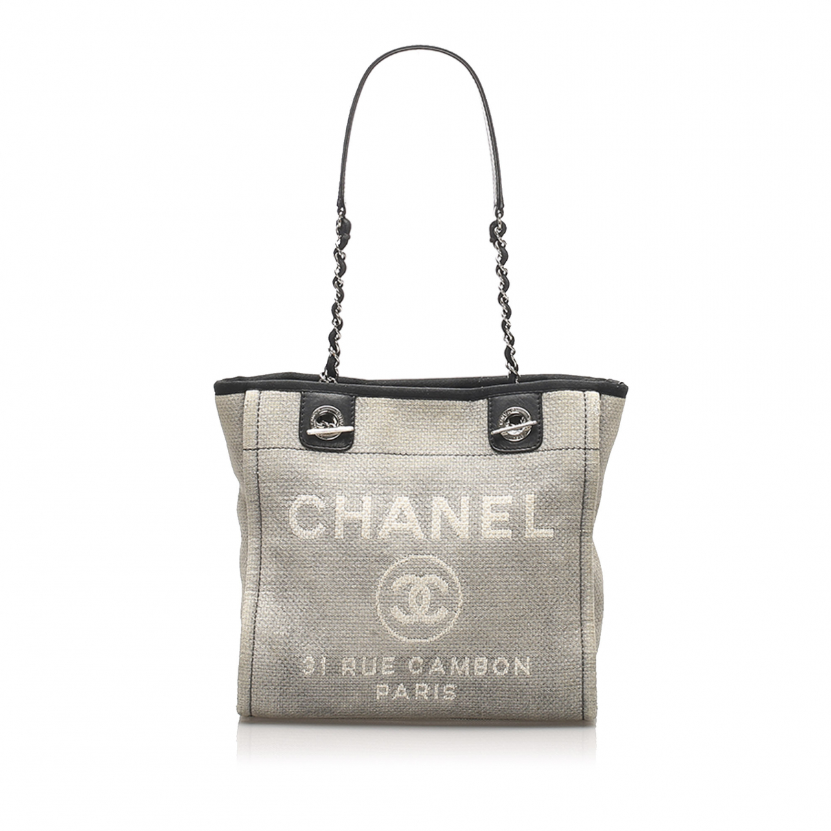 Chanel N Grey Cloth handbag for Women N